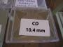 ΘΗΚΗ CD DVD ΔΙΑΦΑΝΗ ΜΟΝΗ 10.4mm (JEWEL) -105