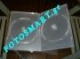 ΘΗΚΗ CD DVD 10,4mm ΔΙΑΦΑΝΗ ΔΙΠΛΗ (Κ7) κωδ 103